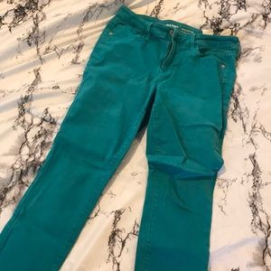 Old navy rockstar pants - Teal/turquoise